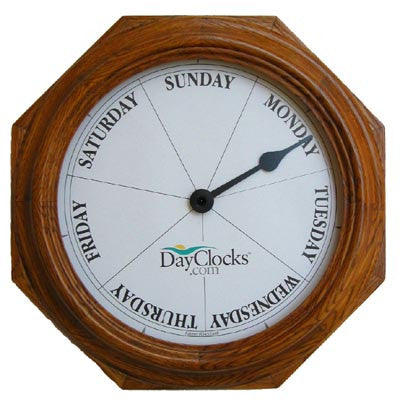 Oak Day Wall Clock