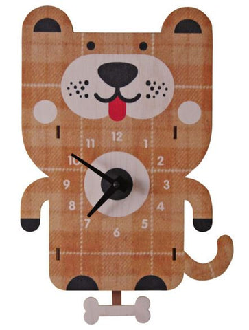 Dog Pendulum Wall Clock
