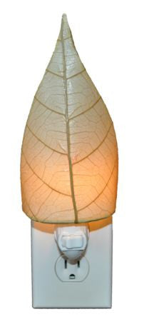 Natural Real Leaves, Fair-trade, Sustainable, Night Light