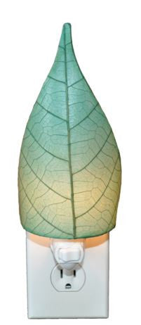 Sea Blue Real Leaf, Fair-trade, Sustainable, Night Light
