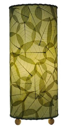 Green Banyan Real Leaves, Fair-trade, Sustainable, Table Light