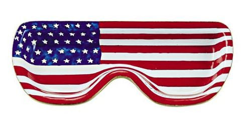 American Flag Eyeglass Holder