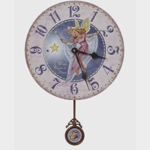 Fairy Pendulum Wall Clock