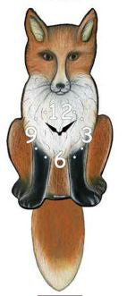 Fox Pendulum Wall Clock