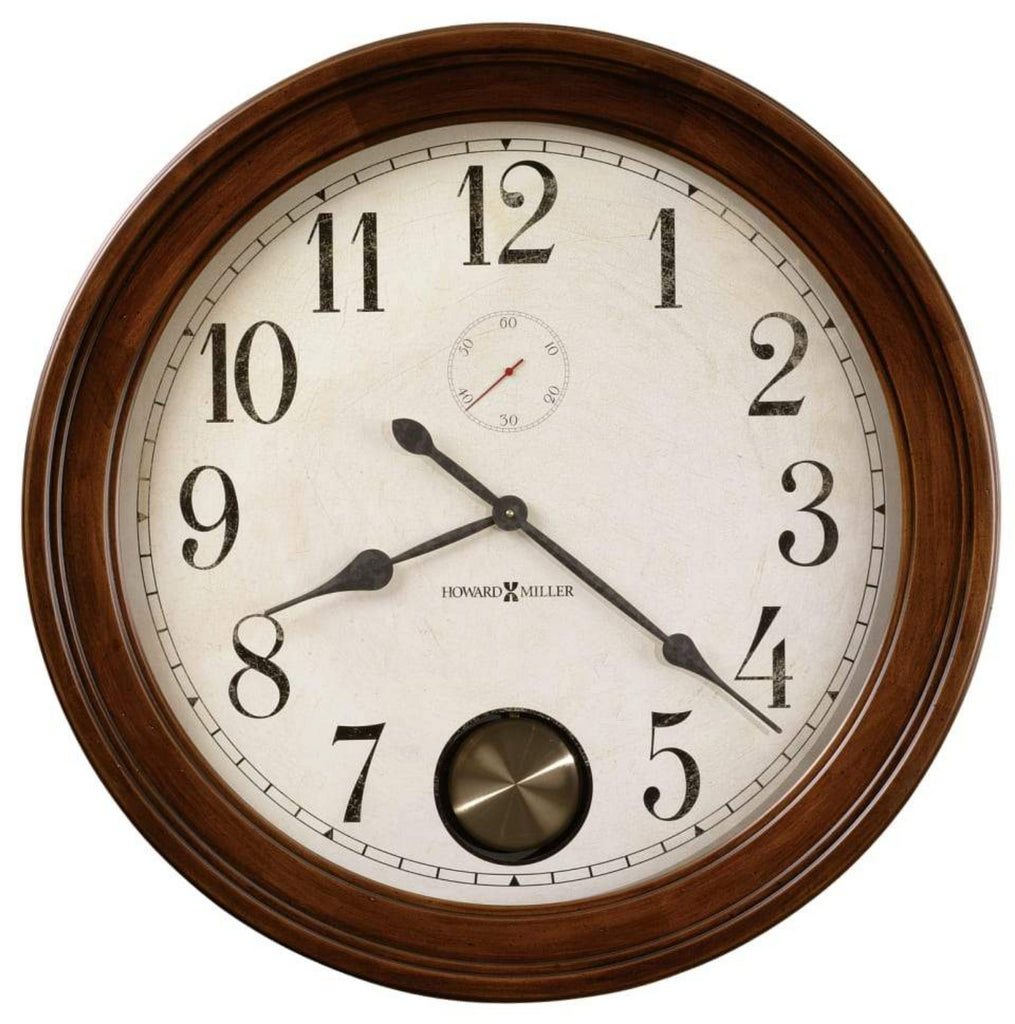 Auburn Large Wood Wall Clock