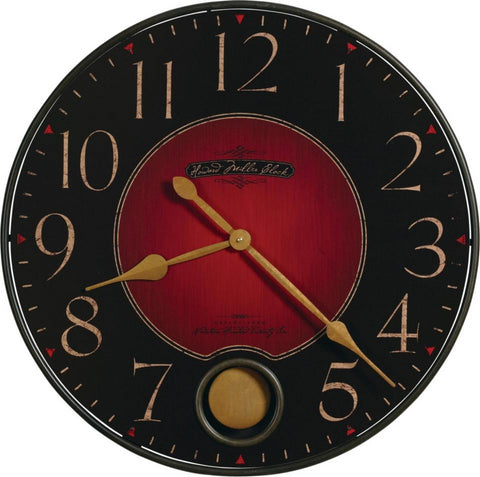 Harmon Large Wall Clock with Pendulum