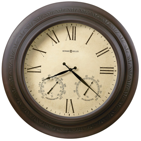 Copper Harbor Indoor/Outdoor Wall Clock