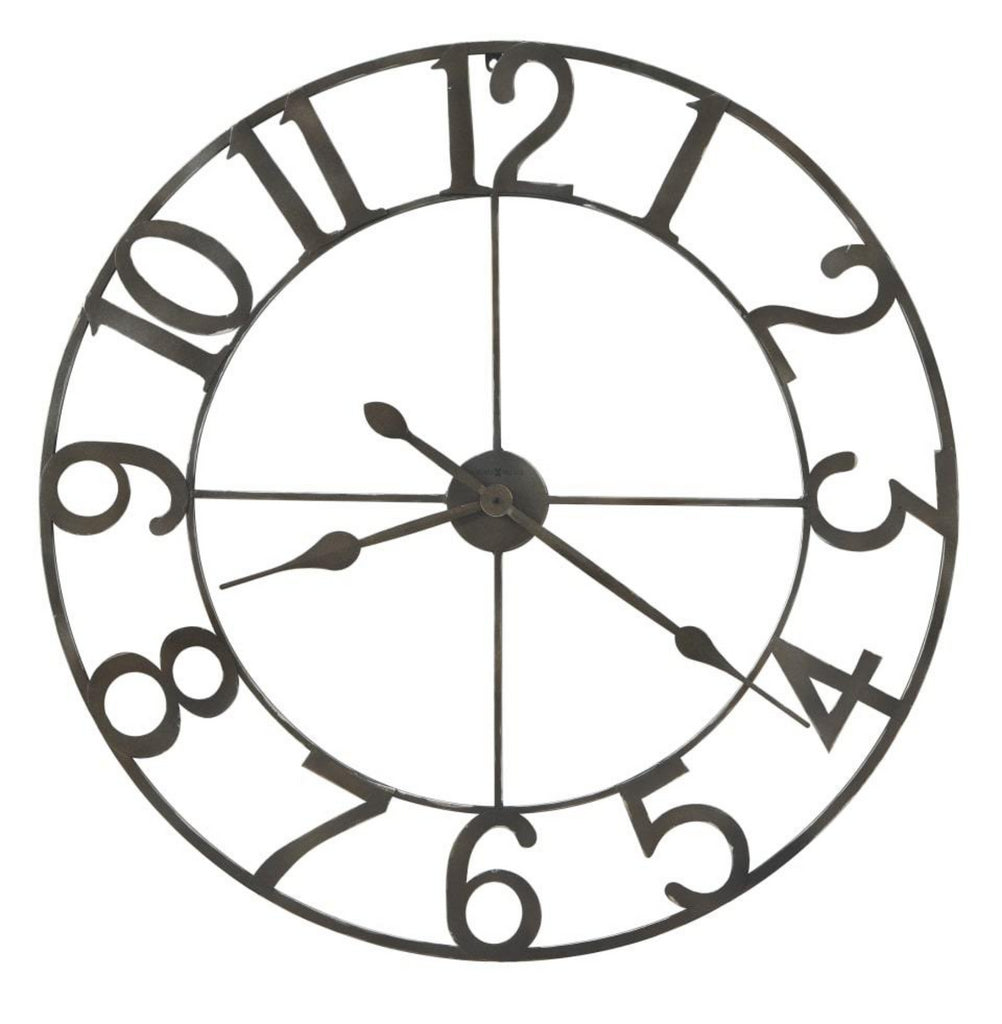 Artwell Large Iron Wall Clock