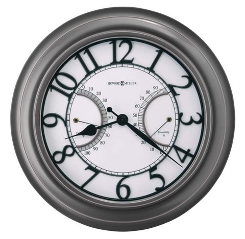 Tawney Indoor/Outdoor Wall Clock