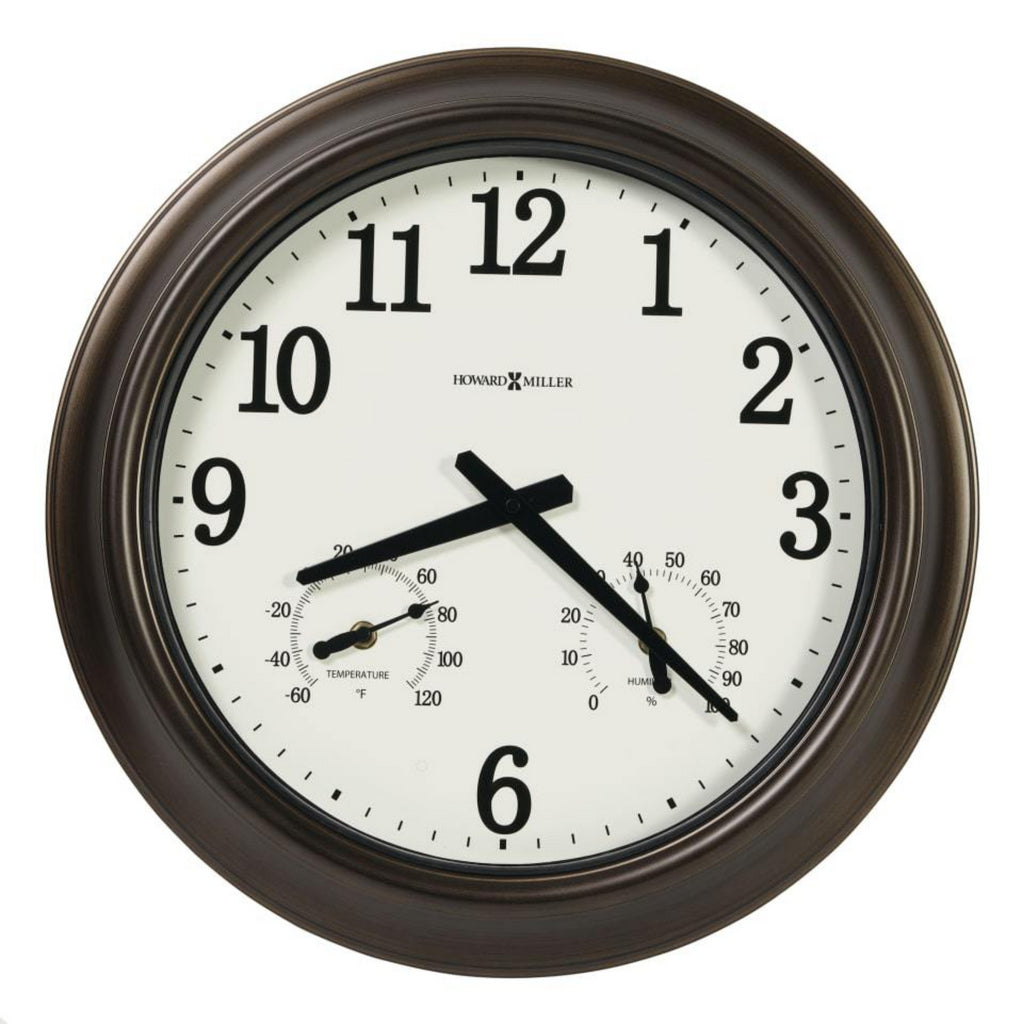 Bay Shore Indoor/Oudoor Wall Clock