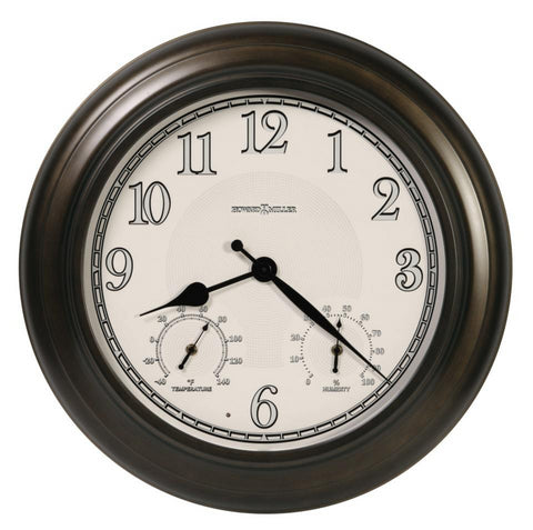Briar Indoor/Outdoor Lighted Wall Clock