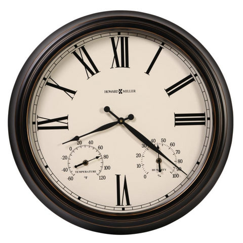 Aspen Indoor/Outdoor Wall Clock