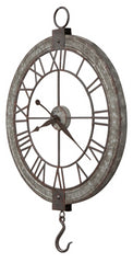 Clock Pulley Wall Clock