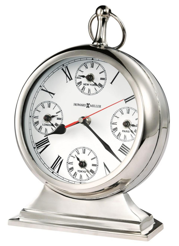 Global Time Mantel Clock