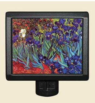 Irises Night Light