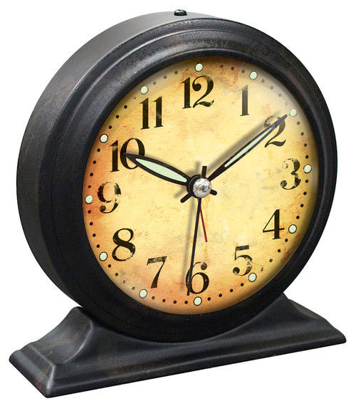 Boutique Black Alarm Clock