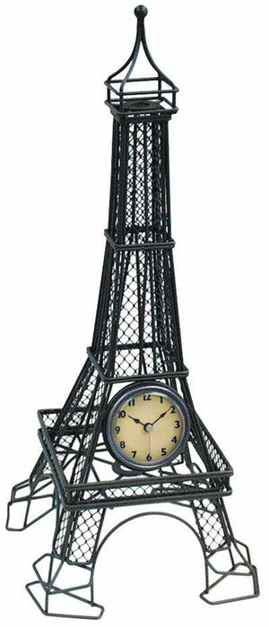 The Eiffel Tower Table Clock