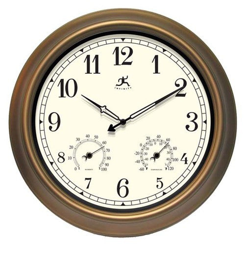 The Craftsman Indoor / Outdoor Wall Clock