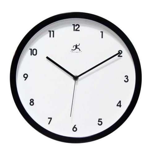 Cirrus Black Wall Clock