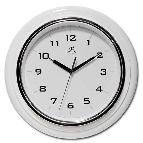 White Deluxe Wall Clock