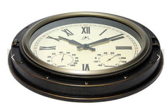 Forecaster Indoor/Outdoor Wall Clock