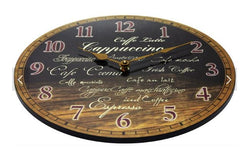 Morning Brew Wall Clock