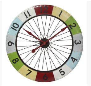 Colorwheel Spoke Wall Clock