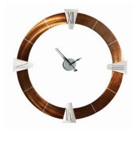 Deco-round Roman Wall Clock