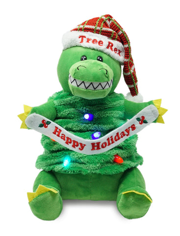 Tree Rex Christmas Singing Animal
