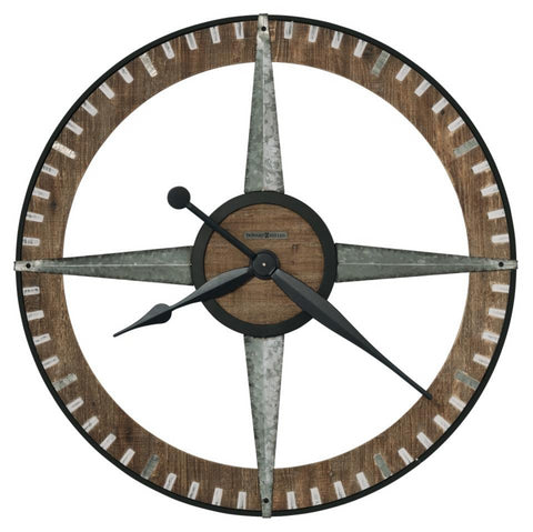 Buster Metal & Wood Wall Clock