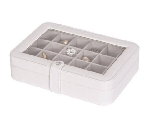 Elaine Ivory Window Earring Box