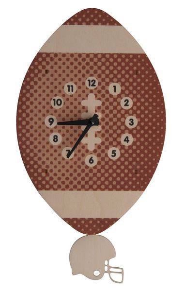 Football Pendulum Wall Clock