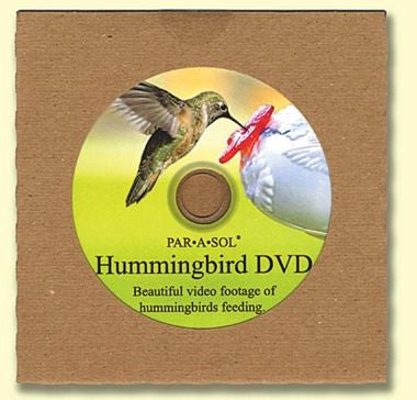 DVD of Hummingbirds Feeding