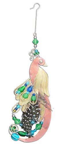 Jewel Peacock Hanging Decoration