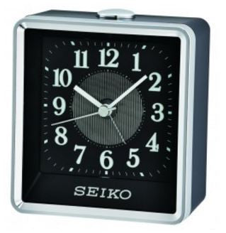 Rooney Silver And Black Alarm Clock