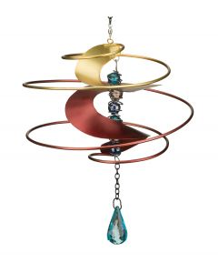 Fantasia Red Hanging Wind Spinner