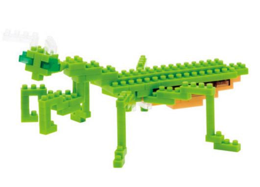 Praying Mantis Nanoblock Kit