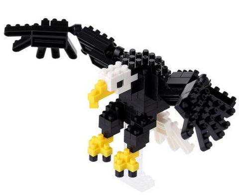 Bald Eagle Nanoblock Kit