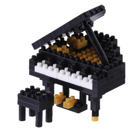 Grand Piano Nanoblock Kit