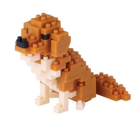Golden Retriever Nanoblock Kit