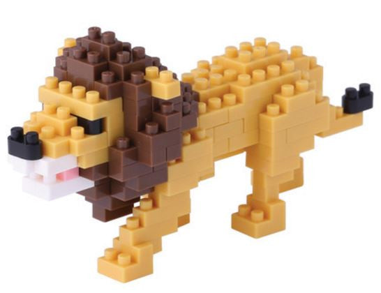 Lion Nanoblock Kit