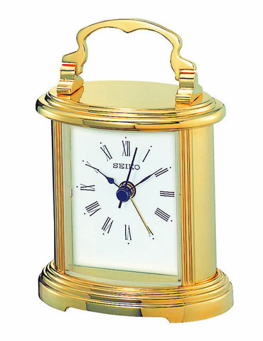 Executive Petite Carriage Alarm Clock