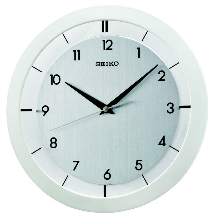 White Leslie Wall Clock