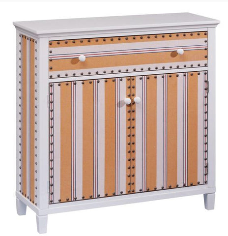 Cabana Stripe Drawer Chest