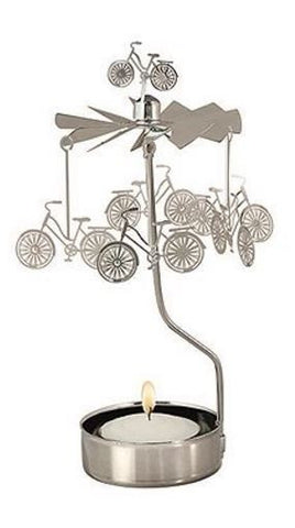 Bike Rotary Candle Holder