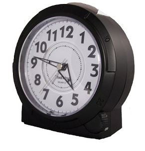 Yale Black Alarm Clock