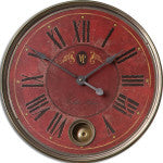 Villa Tesio Wall Clock