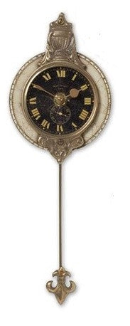 Monarch Small Black Wall Clock