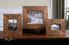 Ambrosia Copper Large Photo Frame