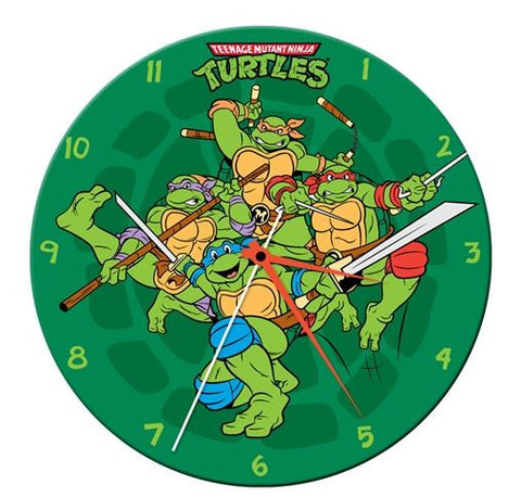 Teenage Mutant Ninja Turtles™ Wood Wall Clock